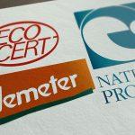label bio qualité de produits terroir